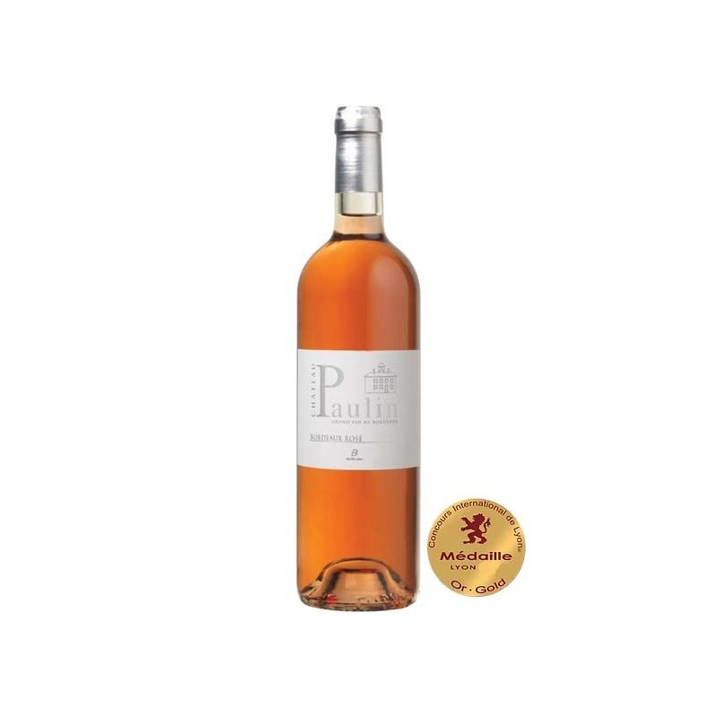 CHATEAU PAULIN - BORDEAUX Rosé